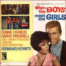 Albumcover Connie Francis - When the Boys Meet The Girls