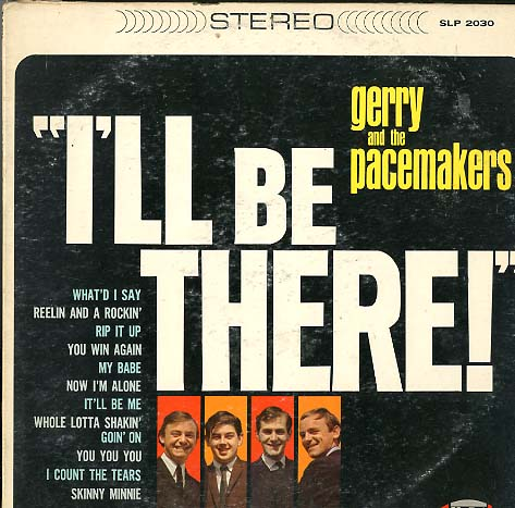 Albumcover Gerry & The Pacemakers - I´ll Be There (US Version)