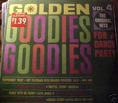 Albumcover Golden Goodies (Roulette Sampler) - Golden Goodies Vol.  4: Goodies for a Dance Party