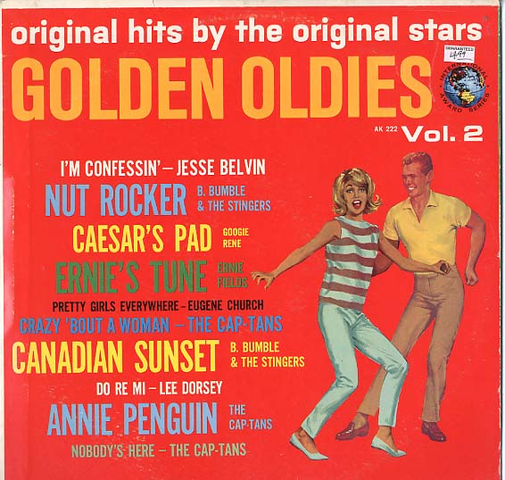 Albumcover Various Artists of the 60s - Golden Oldies Vol. 2 - Original Hits by The Original Stars
