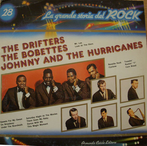 Albumcover La grande storia del Rock - No. 28: Grande Storia del Rock: The Drifters, The Bobettes, Johnny And The Hurricanes