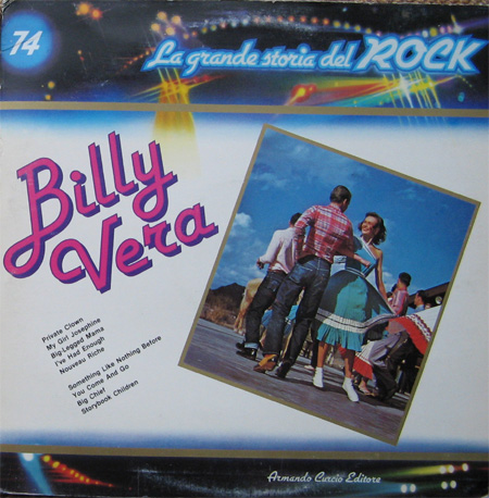 Albumcover La grande storia del Rock - No. 74: Billy Vera