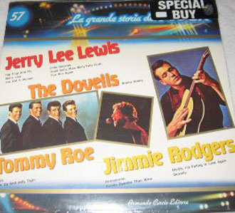Albumcover La grande storia del Rock - No. 57 Grande Storia:  Jerry Lee Lewis, The Dovells, Jimmie Rodgers, Tommy Roe