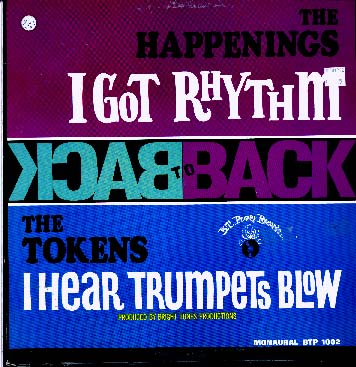 Albumcover The Happenings - Back to Back - The Tokens - The Happenings: I Got Rhythm / I Hear Trumpets Blow