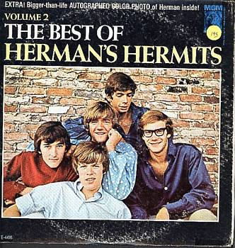 Albumcover Herman´s Hermits - The Best Of Herman´s Hermits Vol. 2