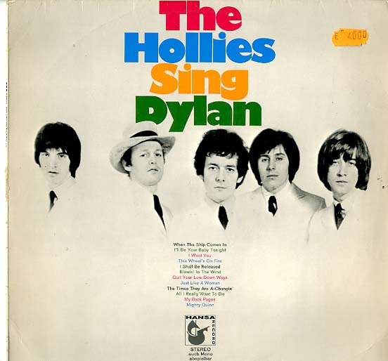 Albumcover The Hollies - The Hollies Sing Bob Dylan