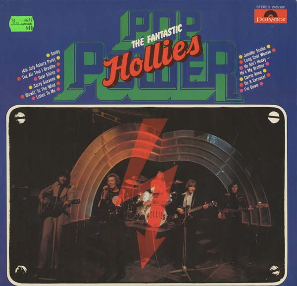 Albumcover The Hollies - Pop Power - The Fantastic Hollies