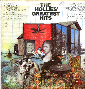 Albumcover The Hollies - The Hollies Greatest Hits (Diff Tracks)