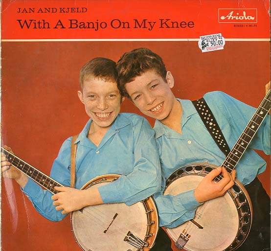 Albumcover Jan & Kjeld - With A Banjo On My Knees