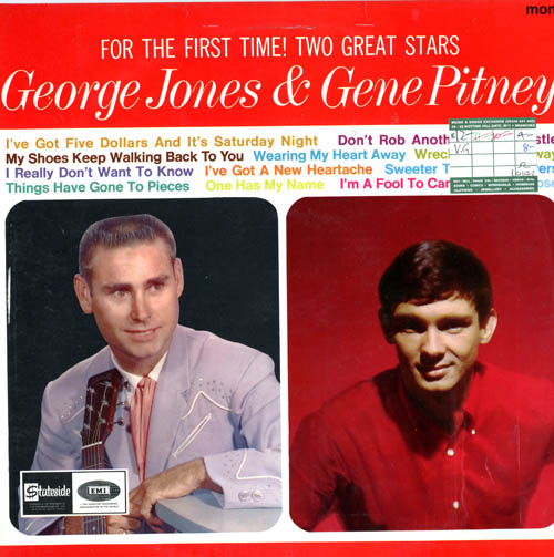 Albumcover George Jones and Gene Pitney - For The First Time: George Jones and Gene Pitney