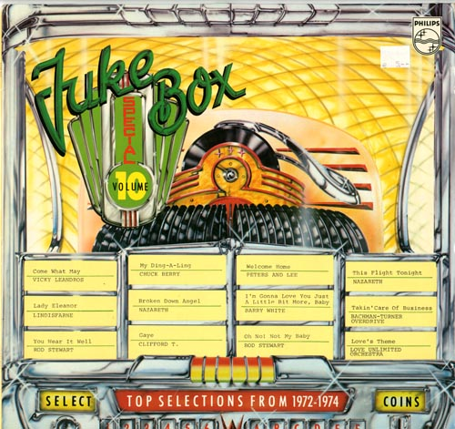 Albumcover Juke Box Special - Juke Box Special, Vol. 10, Top Selections From 1972 - 1974