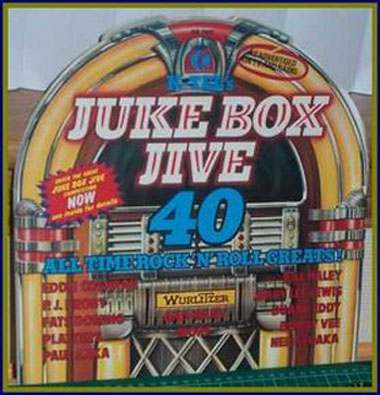 Albumcover k-tel Sampler - Juke Box Jive - 40 All Time Rock´n´Roll Greats