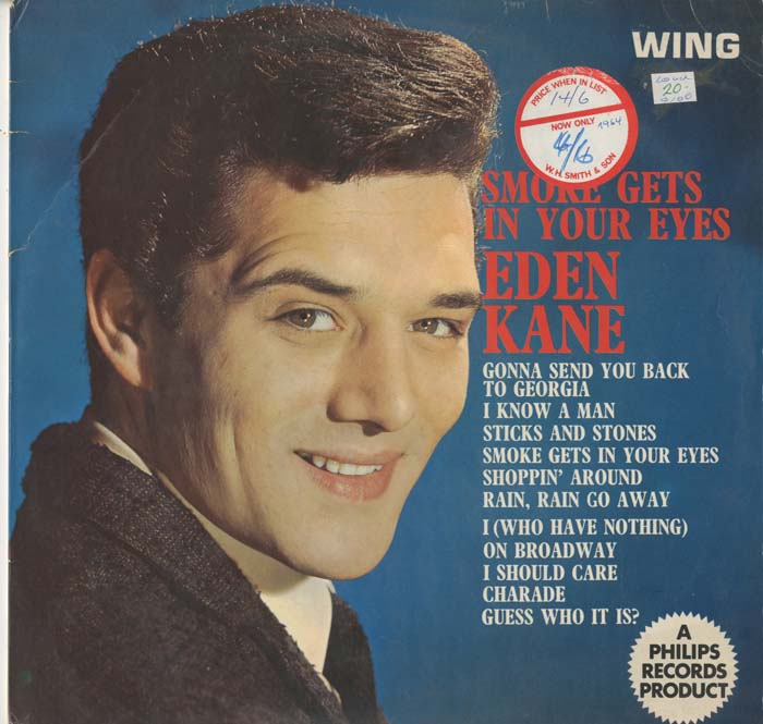 Albumcover Eden Kane - Smoke Gets In Your Eyes