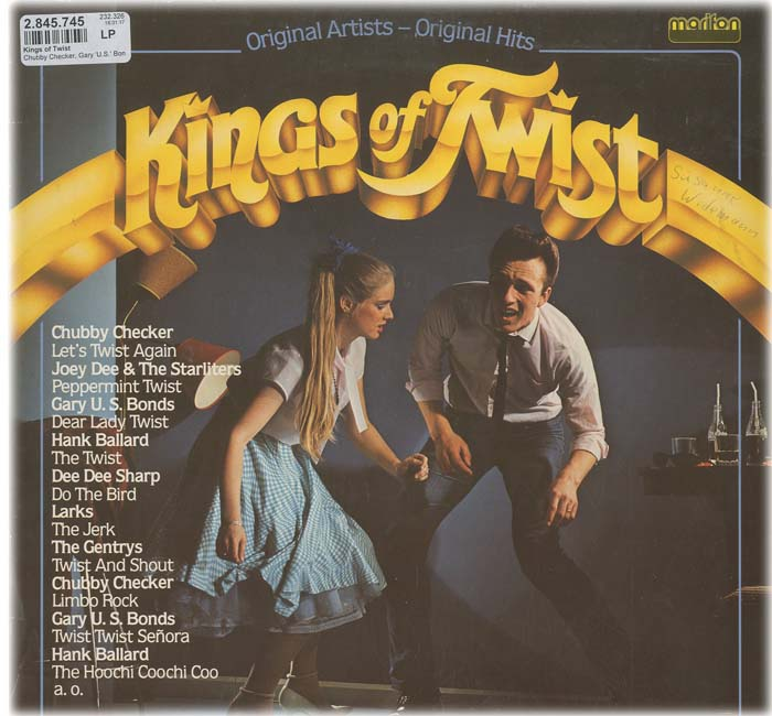Albumcover Various Artists of the 60s - Kings of Twist