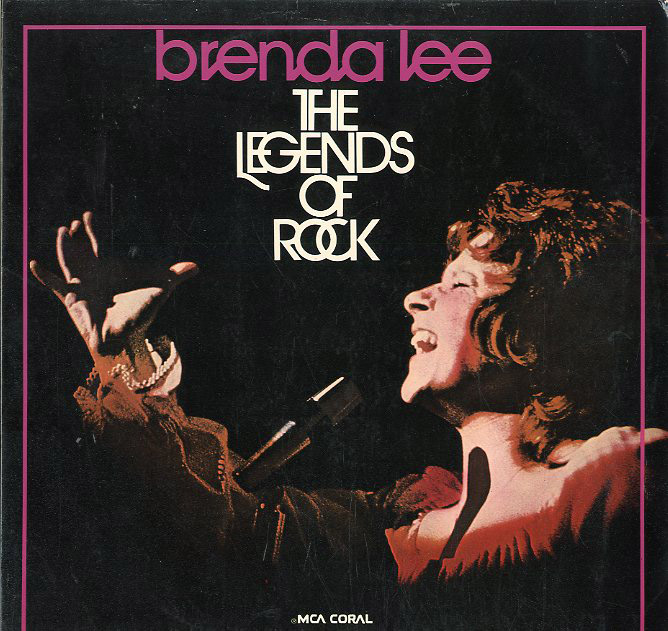 Albumcover Brenda Lee - The Legends Of Rock (2 LP-Set)
