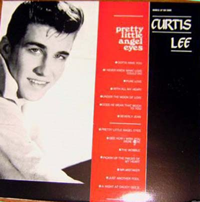Albumcover Curtis Lee - Pretty Little Angle Eyes