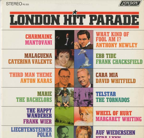Albumcover Various GB-Artists - London Hit Parade