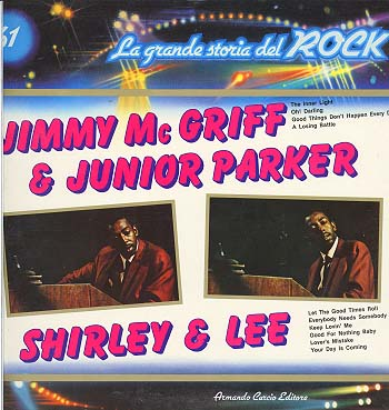 Albumcover La grande storia del Rock - No. 61: Jimmy McGriff & Junior Parker, Shirley & Lee