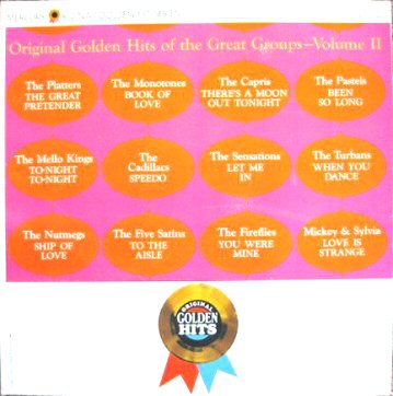 Albumcover Mercury Sampler - Original Golden Hits Of The Great Groups Vol. II