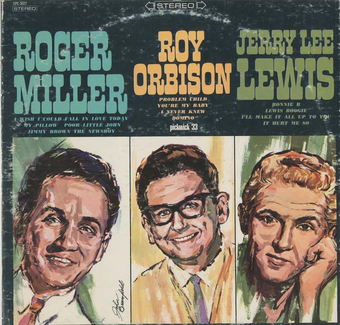 Albumcover Various Artists of the 60s - Roger Miller, Roy Orbison, Jerry Lee Lewis