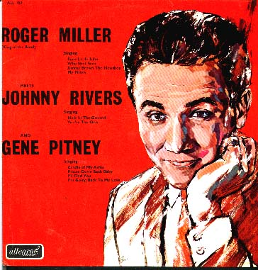 Albumcover Various Artists of the 60s - Roger Miller Meets Johnny Rivers and Gene Pitney