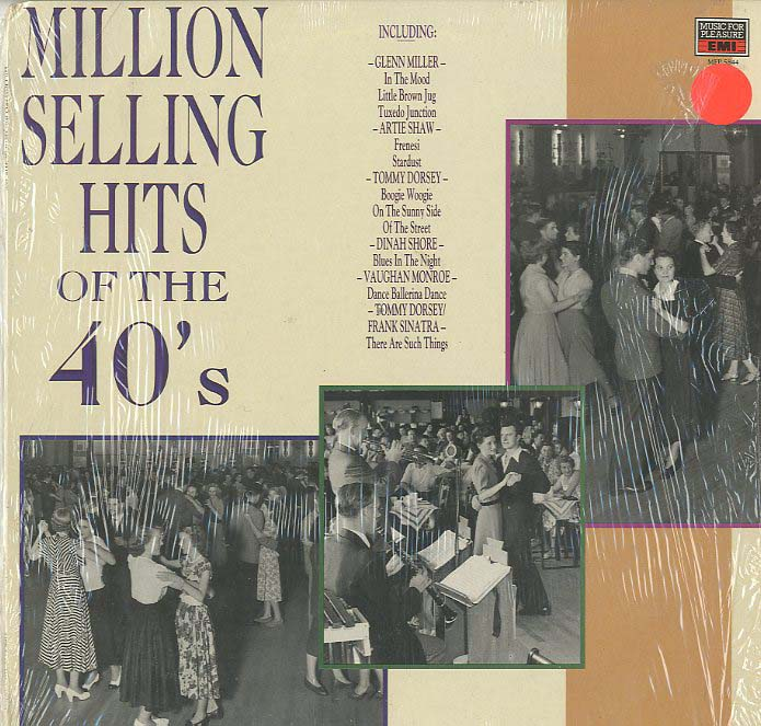 Albumcover Various Artists of the 50s - Million Selling Hits of the 40s