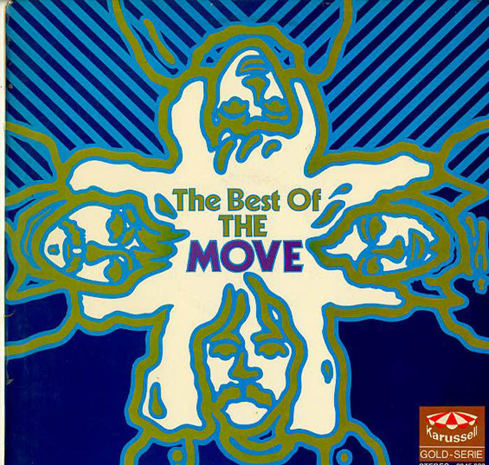 Albumcover The Move (Roy Wood) - The Best of The Move