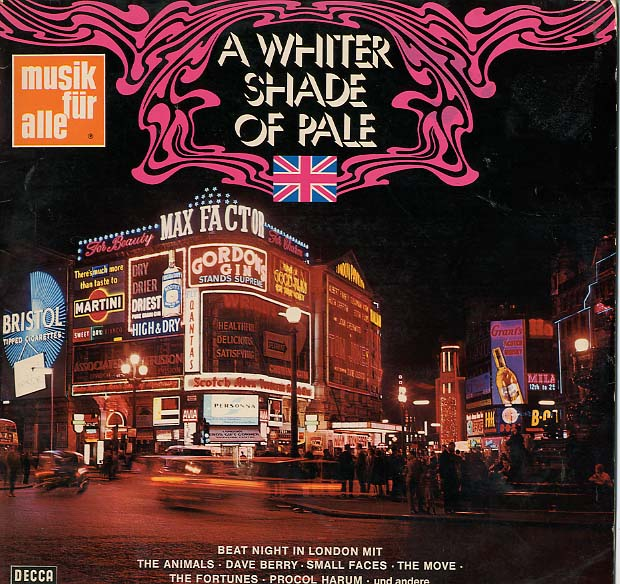 Albumcover Various GB-Artists - A Whiter Shade of Pale - Beat Night in London
