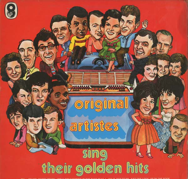 Albumcover Various GB-Artists - Original Artists Sing Their Golden Hits