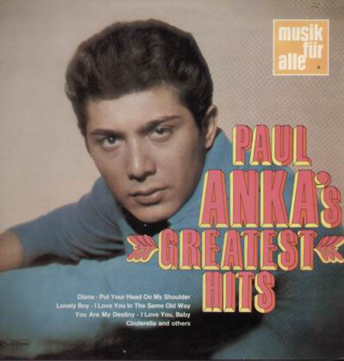 Albumcover Paul Anka - Diana - Paul Anka Sings His Greatest Hits