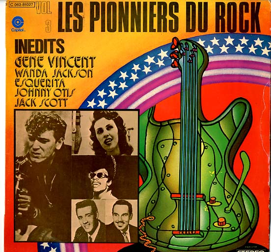 Albumcover Various Artists of the 60s - Les Pionniers du Rock Vol. 3 (Inedits)