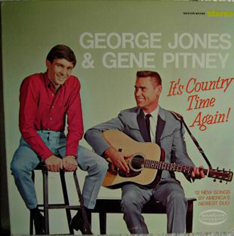 Albumcover Gene Pitney - It�s Country Time Again <br>mit George Jones