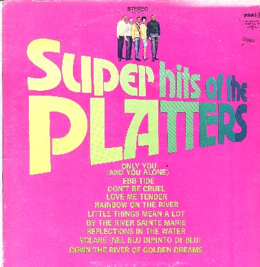 Albumcover The Platters - Super Hits of the Platters