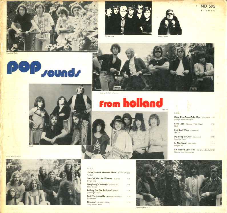 Albumcover Various GB-Artists - Pop Sounds From Holland