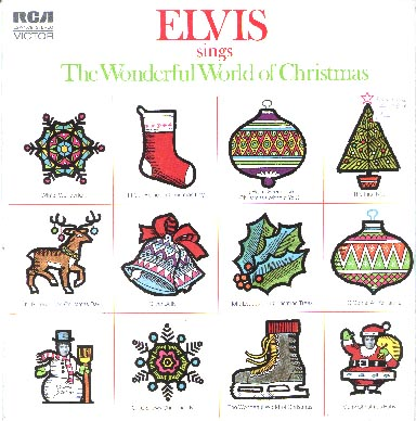 Albumcover Elvis Presley - The Wonderful World Of Christmas