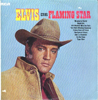 Albumcover Elvis Presley - Elvis Sings Flaming Star