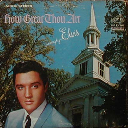 Albumcover Elvis Presley - How Great Thou Art