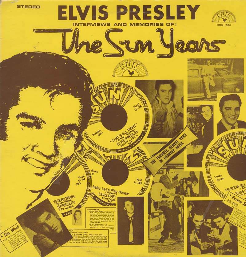 Albumcover Elvis Presley - The Sun Years