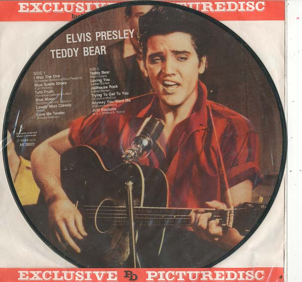 Albumcover Elvis Presley - Teddy Bear (Picture Disc)