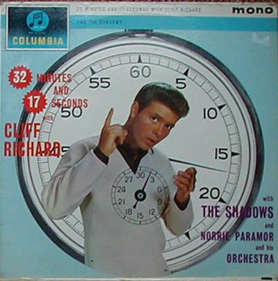 Albumcover Cliff Richard - 32 Minutes And 17 Seconfs -