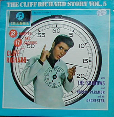 Albumcover Cliff Richard - 32 Minutes And 17 Seconfs - The Cliff Richard Story Vol. 5
