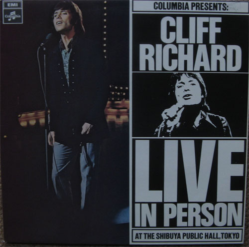 Albumcover Cliff Richard - Live in Person