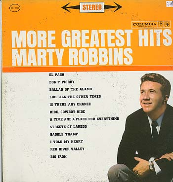 Albumcover Marty Robbins - More Greatest Hits