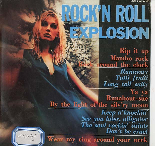 Albumcover Various GB-Artists - Rock´n´Roll Explosion
