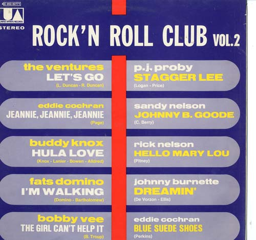 Albumcover Rock´n Roll Club (Columbia/EMI) - Rock´n Roll Club Vol. 2