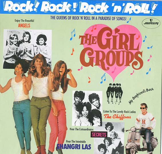 Albumcover Rock! Rock! Rock´n´Roll - The Girl Groups
