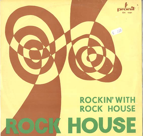 Albumcover Various Artists of the 60s - Rockin With Rock House
