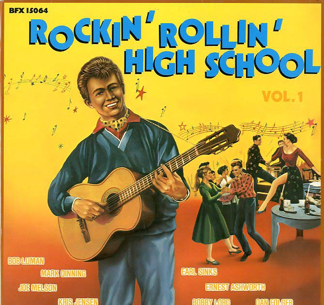 Albumcover Various Artists of the 60s - Rockin Rollin High School Vol. 1