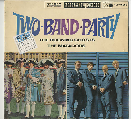 Albumcover The Rocking Ghosts - Two Band Party: The Rocking Ghosts + The Matadors