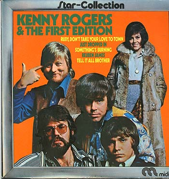 Albumcover Kenny Rogers and the First Edition - Kenny Rogers & The First Edition (Star Collection)